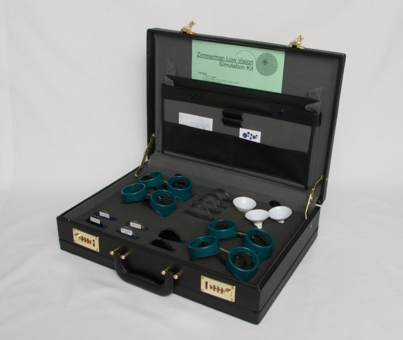 Full Low vision simulation kit
